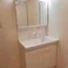 在尼崎市购买3LDK 公寓大厦的 盥洗室