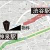 1K Apartment to Buy in Shibuya-ku Map