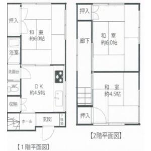 3DK {building type} in Minaminagasaki - Toshima-ku Floorplan