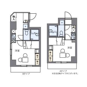 1K Mansion in Minami2-jonishi(1-19-chome) - Sapporo-shi Chuo-ku Floorplan