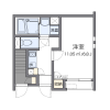 在大田區內租賃1K 公寓 的房產 房間格局