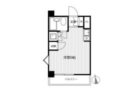 1R {building type} in Motomiya - Yokohama-shi Tsurumi-ku