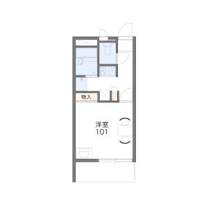 1K Apartment in Minamidai - Fujimino-shi Floorplan