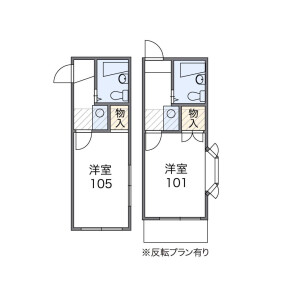 1K Apartment in Nagasaki - Toshima-ku Floorplan