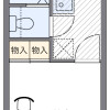 1K Apartment to Rent in Tokorozawa-shi Floorplan