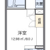 1R Apartment to Rent in Ebina-shi Floorplan