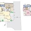在三鹰市购买3SLDK 独栋住宅的 楼层布局