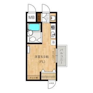 1R Mansion in Maginu - Kawasaki-shi Miyamae-ku Floorplan