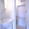 1K Apartment to Rent in Osaka-shi Tennoji-ku Washroom