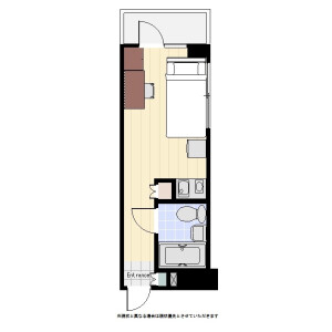 1R Mansion in Kandaneribeicho - Chiyoda-ku Floorplan