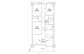 3SLDK Apartment in Kusunoki - Nagoya-shi Kita-ku