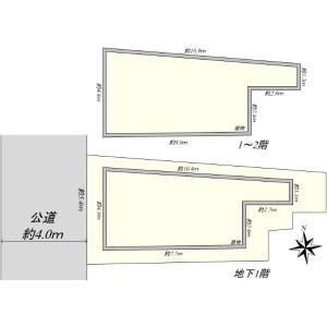 Shop {building type} in Shiba(4.5-chome) - Minato-ku Floorplan