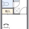 1K アパート 横浜市青葉区 間取り