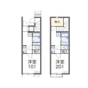 1K Apartment in Sakurajosui - Setagaya-ku Floorplan