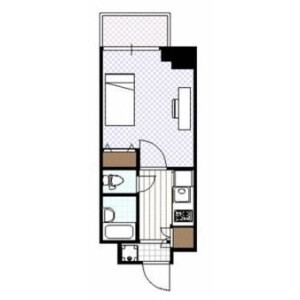 1K Mansion in Hongo - Bunkyo-ku Floorplan