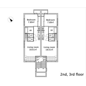 1LDK Mansion in Higashigotanda - Shinagawa-ku Floorplan
