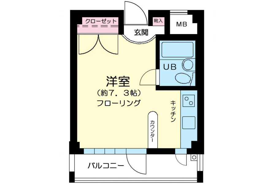 1R マンション 大田区 外観