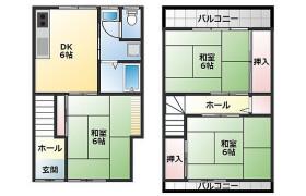 3DK House in Kurodani - Yao-shi
