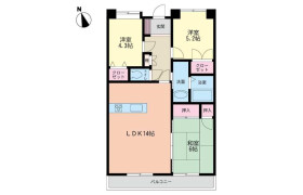 3LDK Apartment in Kiyomi - Kitakyushu-shi Moji-ku