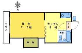 中野区 東中野 1DK アパート