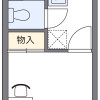 在成田市內租賃1K 公寓 的房產 房間格局