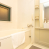 1LDK Apartment to Rent in Osaka-shi Chuo-ku Bathroom