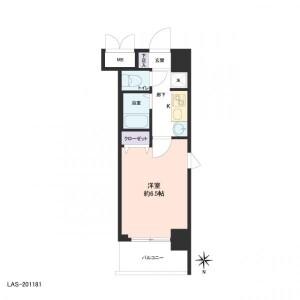 1K Apartment in Daikoku - Osaka-shi Naniwa-ku Floorplan