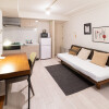 1K Serviced Apartment to Rent in Ota-ku Bedroom