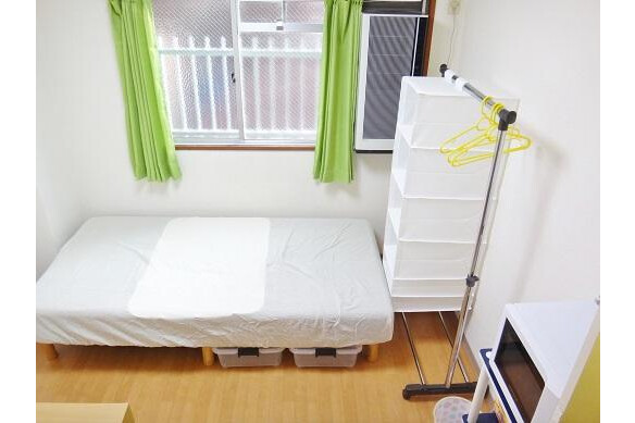 1R Apartment to Rent in Osaka-shi Joto-ku Bedroom