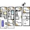 3LDK House to Rent in Minato-ku Floorplan