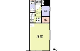 福岡市中央区 - 白金 大厦式公寓 1K