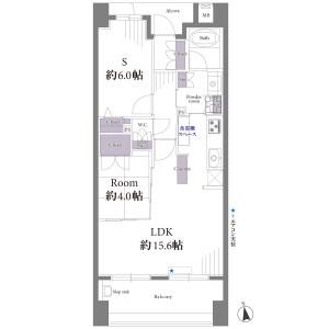 2LDK {building type} in Kitakasai - Edogawa-ku Floorplan