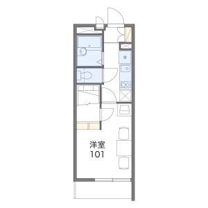 1K Mansion in Toyotamanaka - Nerima-ku Floorplan