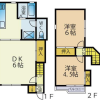 2LDK Apartment to Rent in Kashiwa-shi Interior