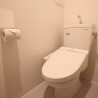 1R Serviced Apartment to Rent in Ota-ku Toilet