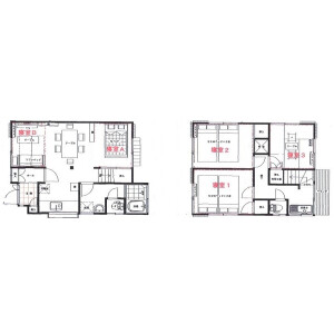 3LDK Apartment in Shimomaruko - Ota-ku Floorplan