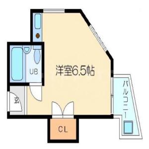 1R Mansion in Nishinakajima - Osaka-shi Yodogawa-ku Floorplan