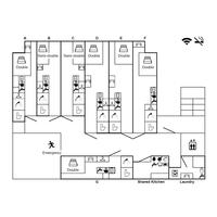 1R Mansion in Ikesonocho - Nagoya-shi Chikusa-ku Floorplan