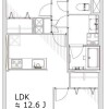 2LDK Apartment to Buy in Shinagawa-ku Floorplan