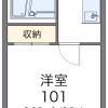 1K マンション 大阪市西区 間取り