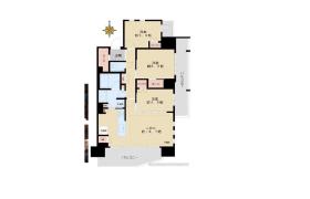 新宿区山吹町-3LDK公寓