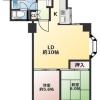 2LDK Apartment to Rent in Suginami-ku Floorplan