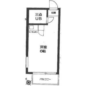 1R Mansion in Minaminagasaki - Toshima-ku Floorplan
