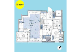1R {building type} in Ohashi - Meguro-ku