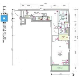 1K Mansion in Higashirokugo - Ota-ku Floorplan