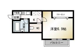 1K Mansion in Banyuhoncho - Hiratsuka-shi