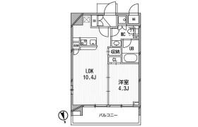 港区東麻布-1LDK公寓大厦