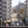 1R Apartment to Rent in Osaka-shi Higashinari-ku Balcony / Veranda