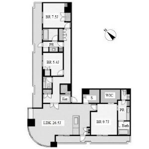3SLDK Mansion in Chikusa - Nagoya-shi Chikusa-ku Floorplan