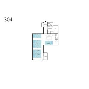 大阪市浪速區桜川-1R公寓大廈 房間格局